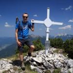 Klobenjoch Gipfelkreuz