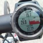 Garmin Fenix 3 am Rennrad