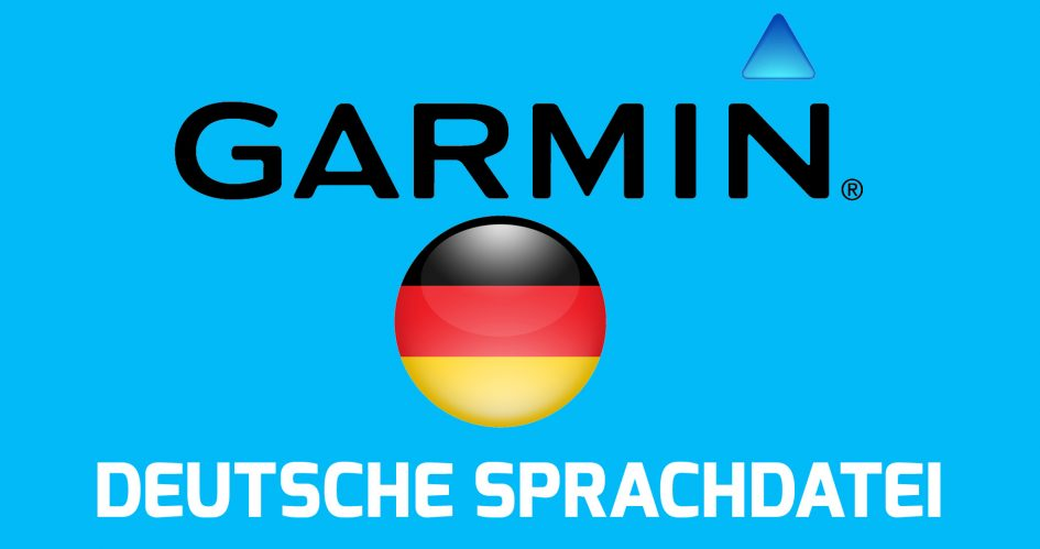 Deutsche Sprachdateien für die Fenix 3