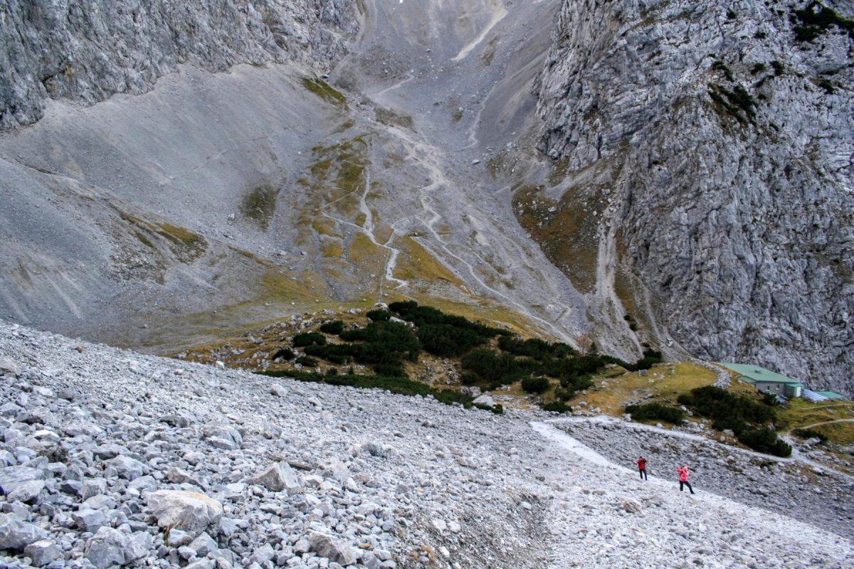 Durchs Dammkar auf die Nördliche Linderspitze (2372m