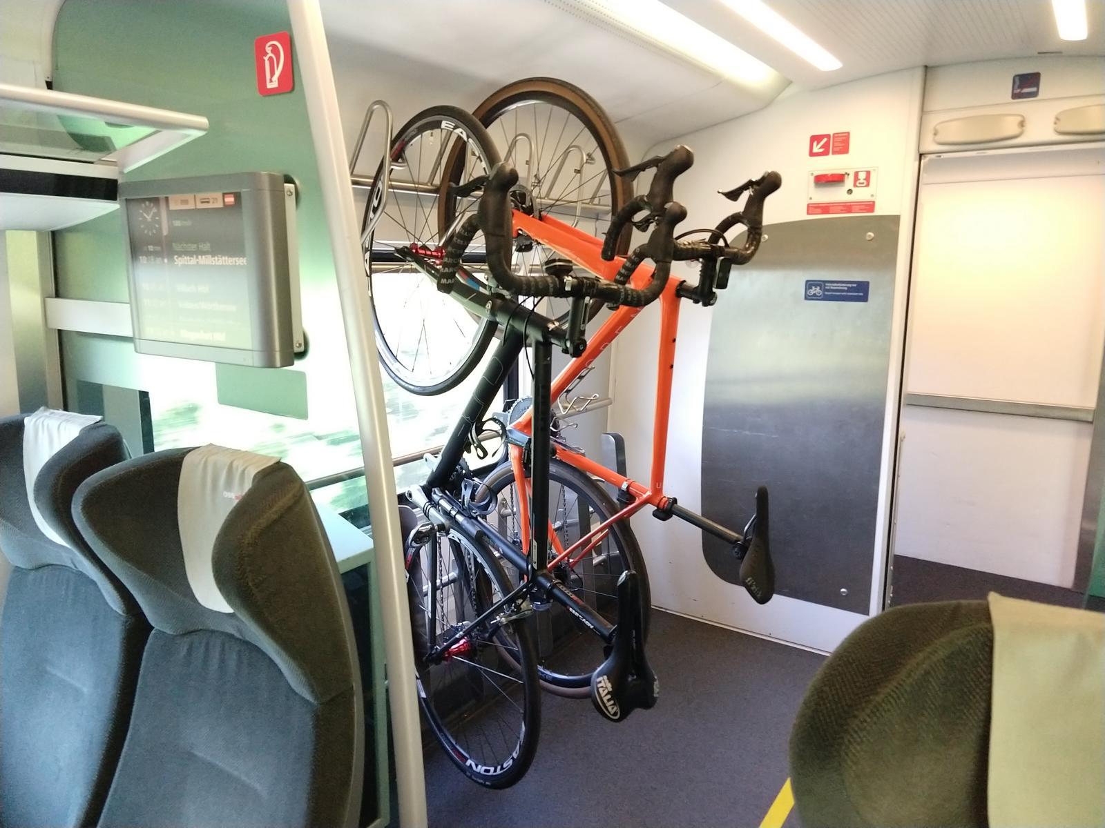 Radtransport im Railjet