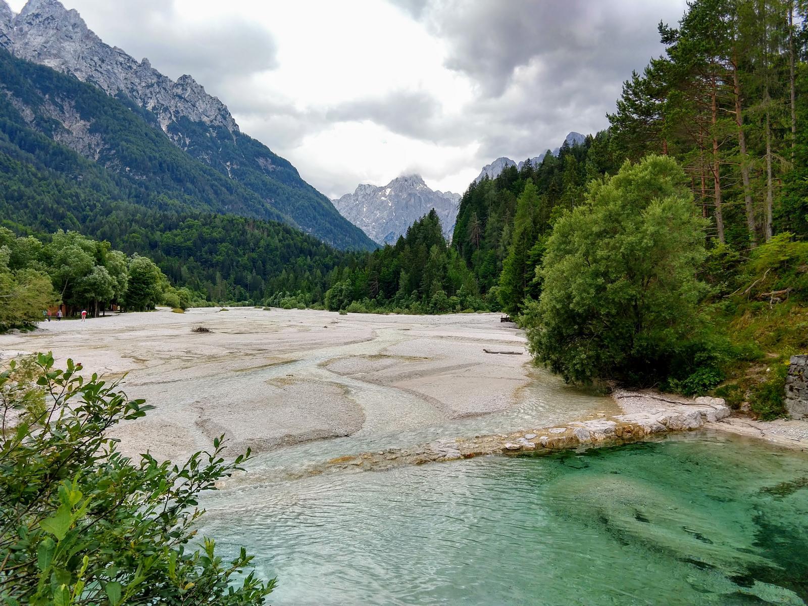 Pisnica-Fluss