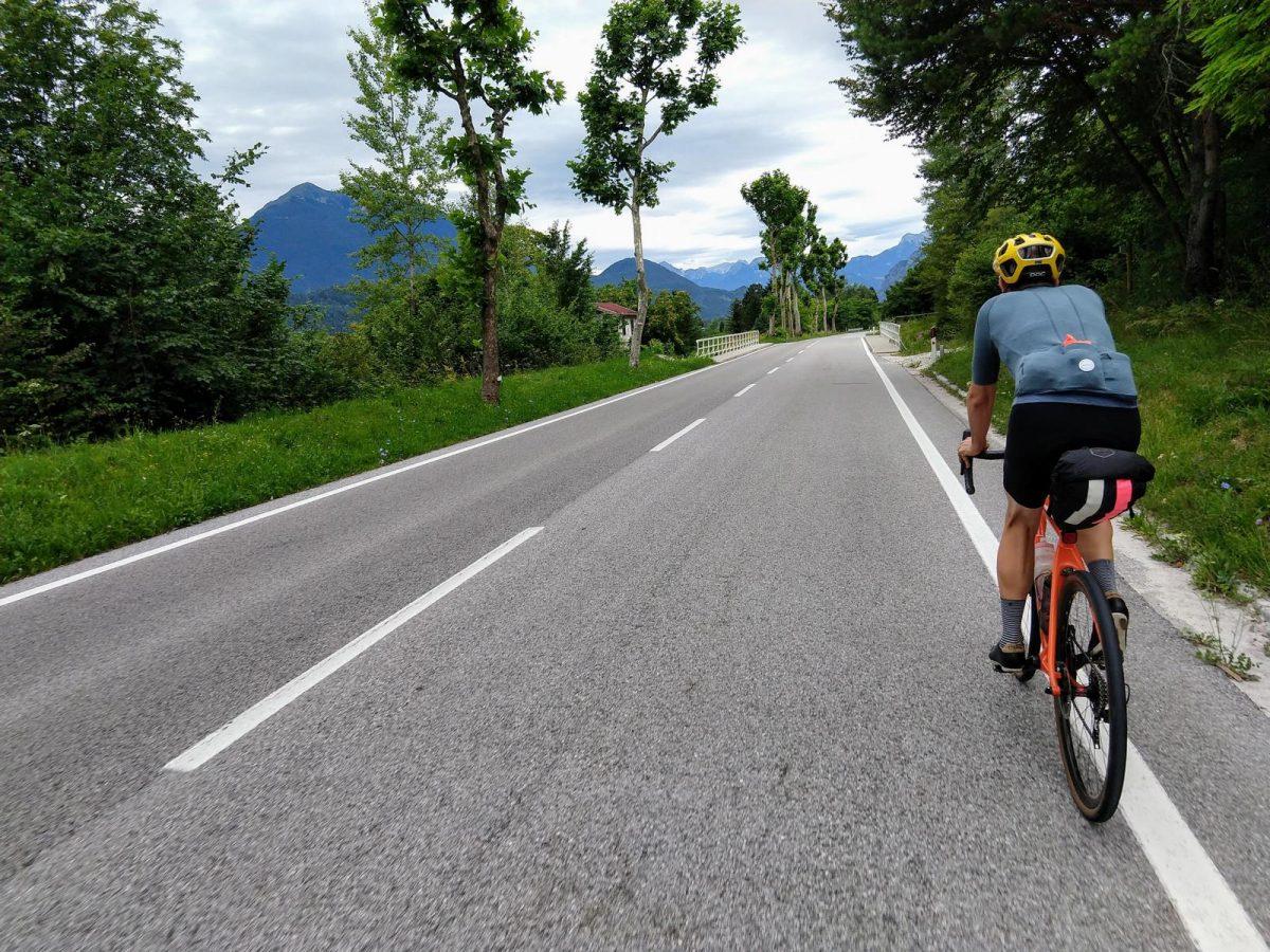 Anfahrt zum Monte Zoncolan