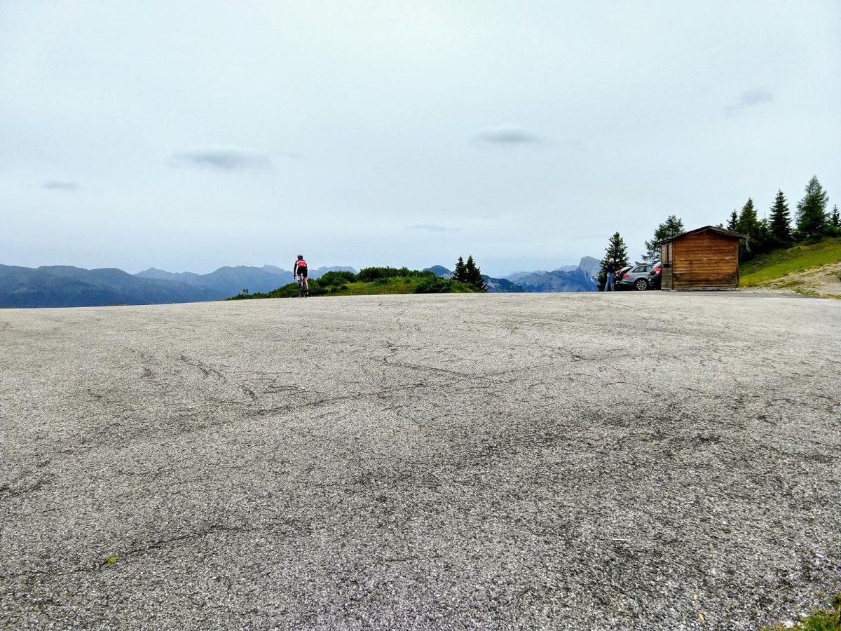 Monte Zoncolan - Passhöhe